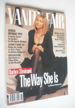 Vanity Fair magazine - Barbra Streisand cover (November 1994)