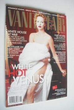 Vanity Fair magazine - Charlize Theron cover (January 1999)