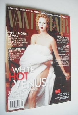 <!--1999-01-->Vanity Fair magazine - Charlize Theron cover (January 1999)
