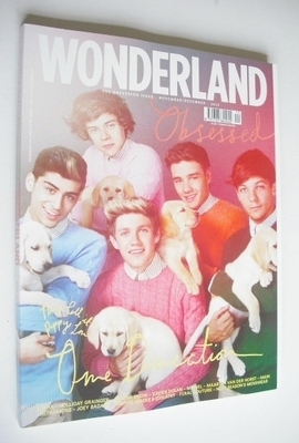 <!--2012-11-->Wonderland magazine - November/December 2012 - One Direction