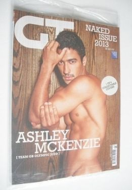 <!--2013-03-->Gay Times magazine - Ashley McKenzie cover (March 2013)