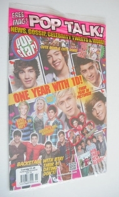 <!--2012-11-->POPSTAR magazine - November 2012 - One Direction cover