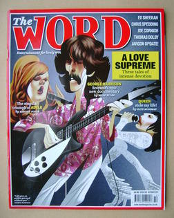 <!--2011-10-->The Word magazine - A Love Supreme cover (October 2011)