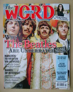 <!--2009-08-->The Word magazine - The Beatles cover (August 2009)