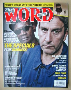 <!--2009-12-->The Word magazine - Terry Hall and Lynval Golding cover (Dece