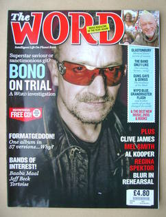 <!--2009-07-->The Word magazine - Bono cover (July 2009)