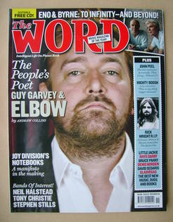 <!--2008-11-->The Word magazine - Guy Garvey cover (November 2008)