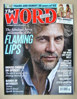 <!--2009-11-->The Word magazine - Wayne Coyne cover (November 2009)