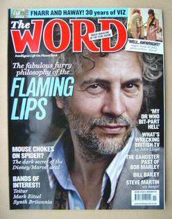 <!--2009-11-->The Word magazine - Wayne Coyne cover (November 2009)