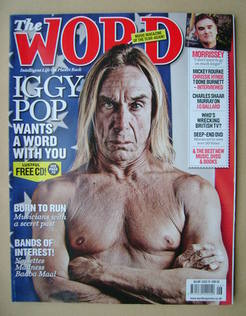<!--2009-06-->The Word magazine - Iggy Pop cover (June 2009)
