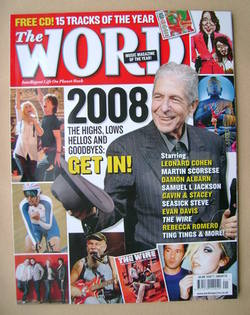 <!--2009-01-->The Word magazine - Leonard Cohen cover (January 2009)