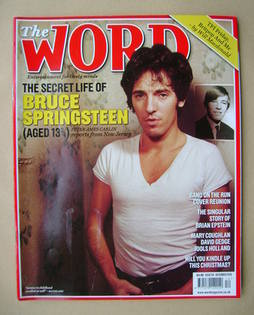 <!--2010-12-->The Word magazine - Bruce Springsteen cover (December 2010)