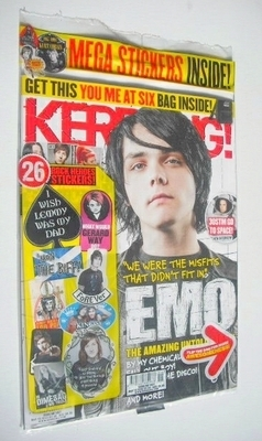<!--2013-03-16-->Kerrang magazine - Emo cover (16 March 2013 - Issue 1457)
