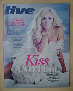 <!--2012-11-25-->Live magazine - Katherine Jenkins cover (25 November 2012)