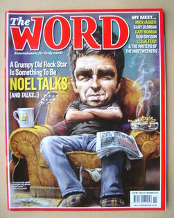 <!--2011-11-->The Word magazine - Noel Gallagher cover (November 2011)