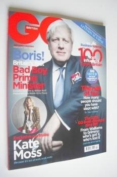 British GQ magazine - February 2013 - Boris Johnson cover