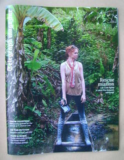 <!--2013-02-23-->Telegraph magazine - Lily Cole cover (23 February 2013)