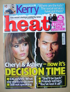 <!--2008-02-16-->Heat magazine - Cheryl Cole / Ashley Cole cover (16-22 Feb