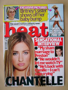 <!--2008-02-23-->Heat magazine - Chantelle Houghton cover (23-29 February 2