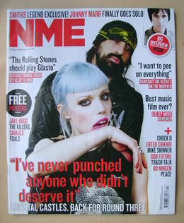 <!--2012-11-03-->NME magazine - Crystal Castles cover (3 November 2012)