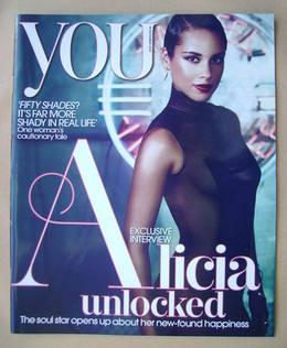 <!--2012-11-18-->You magazine - Alicia Keys cover (18 November 2012)