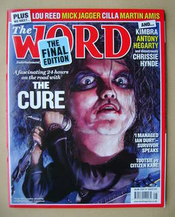 <!--2012-08-->The Word magazine - The Cure cover (August 2012 - Final Issue