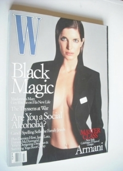 W magazine - October 2000 - Stephane Seymour cover