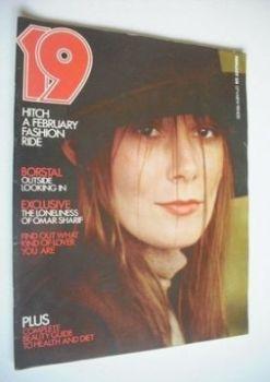 19 magazine - February 1971