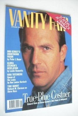 <!--1992-01-->Vanity Fair magazine - Kevin Costner cover (January 1992)