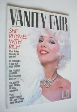 <!--1984-12-->US Vanity Fair magazine - Joan Collins cover (December 1984)