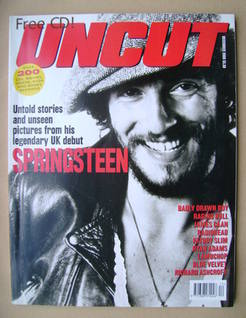 Uncut magazine - Bruce Springsteen cover (December 2000)
