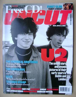 <!--1999-12-->Uncut magazine - U2 cover (December 1999)