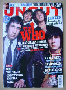 <!--2009-10-->Uncut magazine - The Who cover (October 2009)