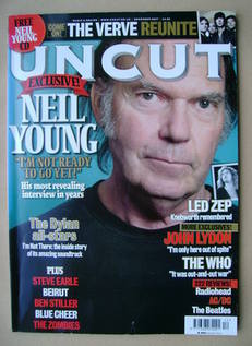 <!--2007-12-->Uncut magazine - Neil Young cover (December 2007)