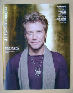 <!--2013-03-16-->Telegraph magazine - Jon Bon Jovi cover (16 March 2013)