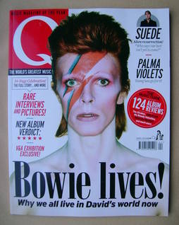 Q magazine - David Bowie cover (April 2013)