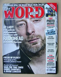 <!--2008-06-->The Word magazine - Thom Yorke cover (June 2008)