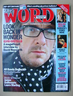 The Word magazine - Elvis Costello cover (April 2008)