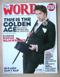 The Word magazine - Rufus Wainwright cover (May 2007)