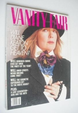 <!--1987-03-->US Vanity Fair magazine - Diane Keaton cover (March 1987)