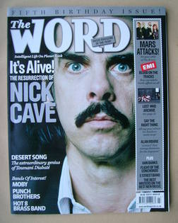 <!--2008-03-->The Word magazine - Nick Cave cover (March 2008)