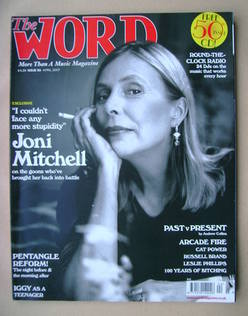 <!--2007-04-->The Word magazine - Joni Mitchell cover (April 2007)