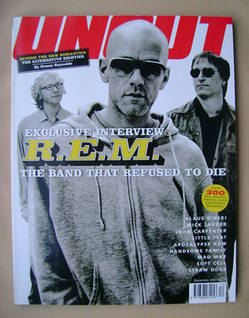 Uncut magazine - R.E.M. cover (December 2001)