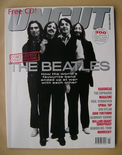 Uncut magazine - The Beatles cover (November 2000)