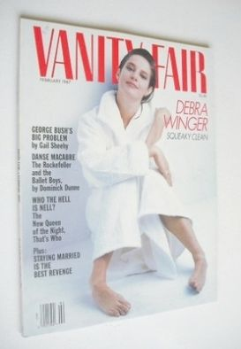 <!--1987-02-->US Vanity Fair magazine - Debra Winger cover (February 1987)