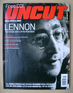 Uncut magazine - John Lennon cover (May 2000)