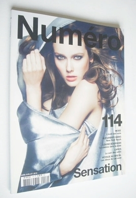 <!--2010-06-->Numero magazine - June/July 2010 - Jac Jagaciak cover