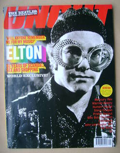 <!--2001-09-->Uncut magazine - Elton John cover (September 2001)