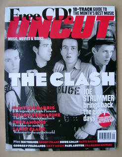 <!--1999-09-->Uncut magazine - The Clash cover (September 1999)