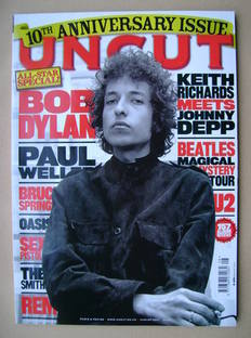 <!--2007-08-->Uncut magazine - Bob Dylan cover (August 2007)